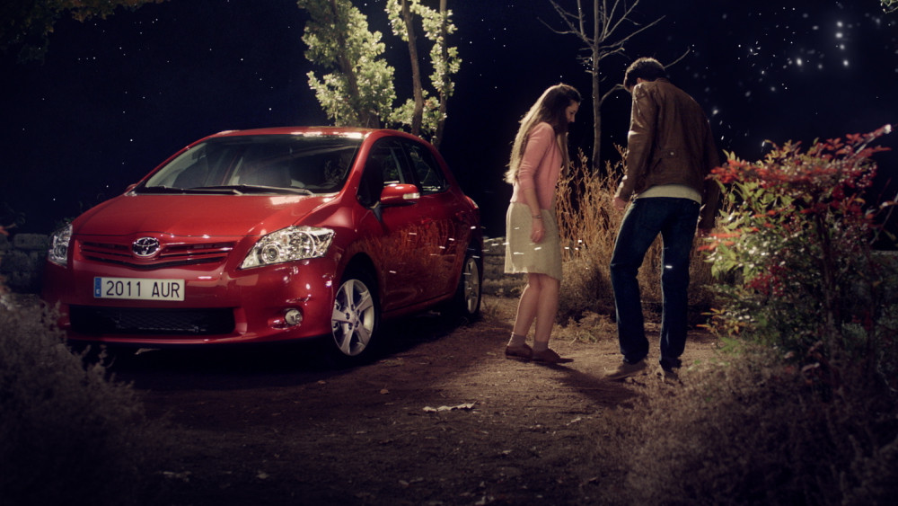 Toyota Auris. TV Commercial, makmac